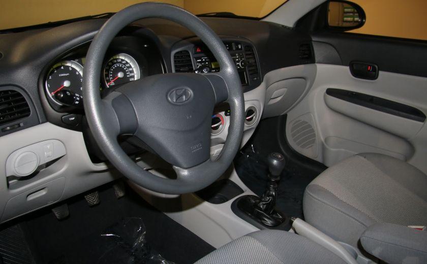 2009 Hyundai Accent Man GL A/C #8