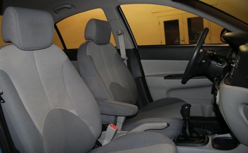 2009 Hyundai Accent Man GL A/C #21