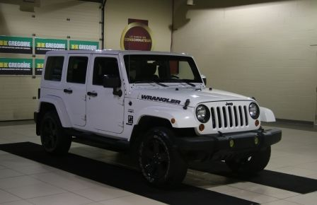 2012 Jeep Wrangler Sahara 4WD AUTO A/C 2TOITS MAGS in Victoriaville