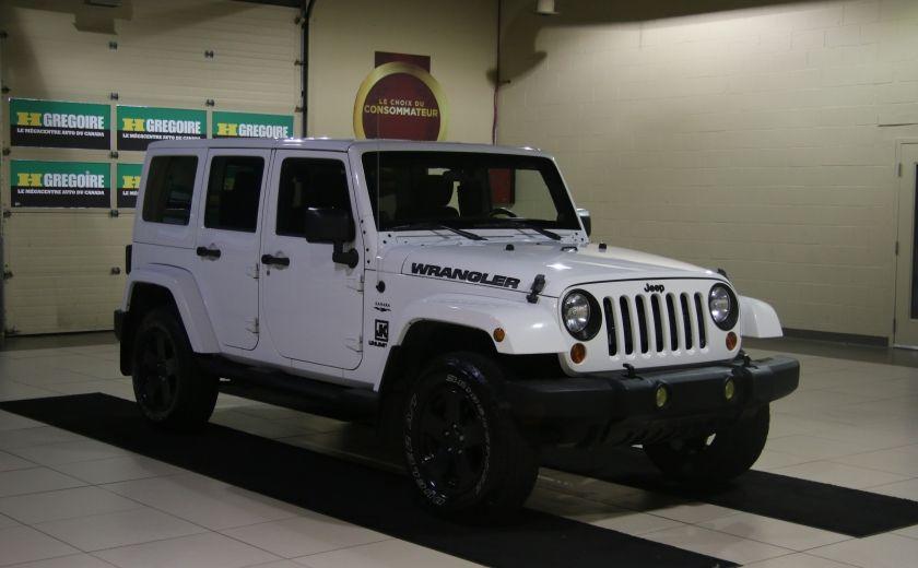 2012 Jeep Wrangler Sahara 4WD AUTO A/C 2TOITS MAGS #0