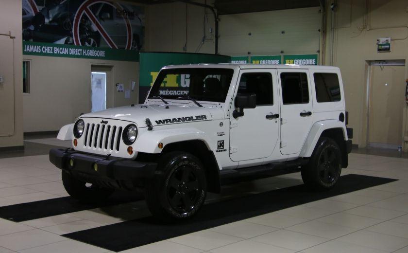2012 Jeep Wrangler Sahara 4WD AUTO A/C 2TOITS MAGS #2