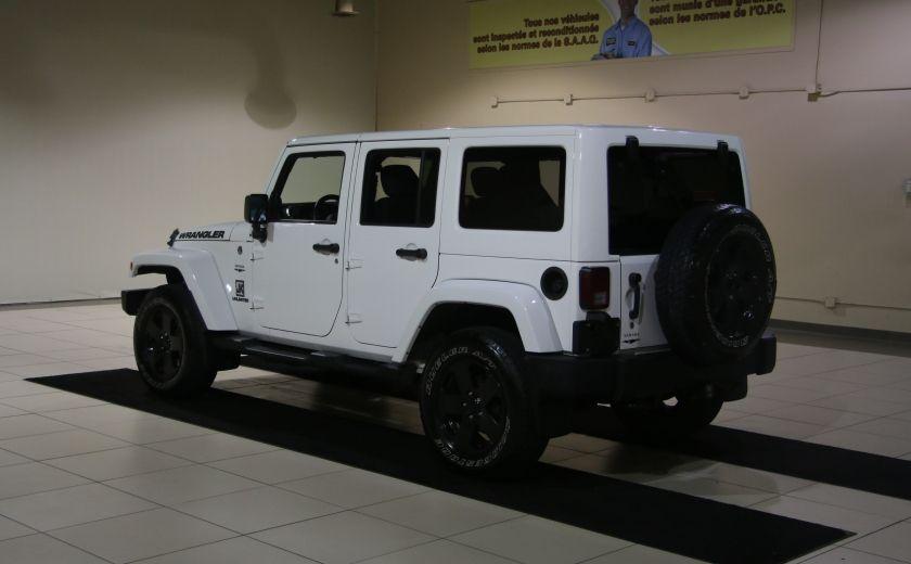2012 Jeep Wrangler Sahara 4WD AUTO A/C 2TOITS MAGS #4