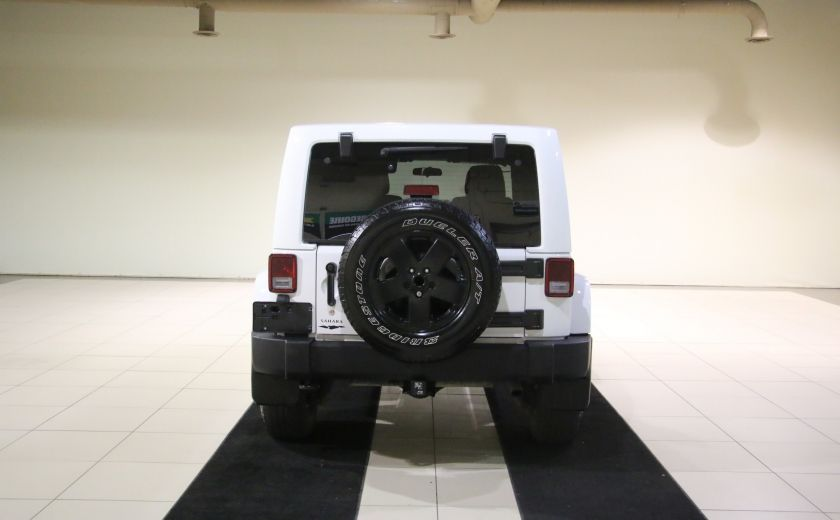 2012 Jeep Wrangler Sahara 4WD AUTO A/C 2TOITS MAGS #5