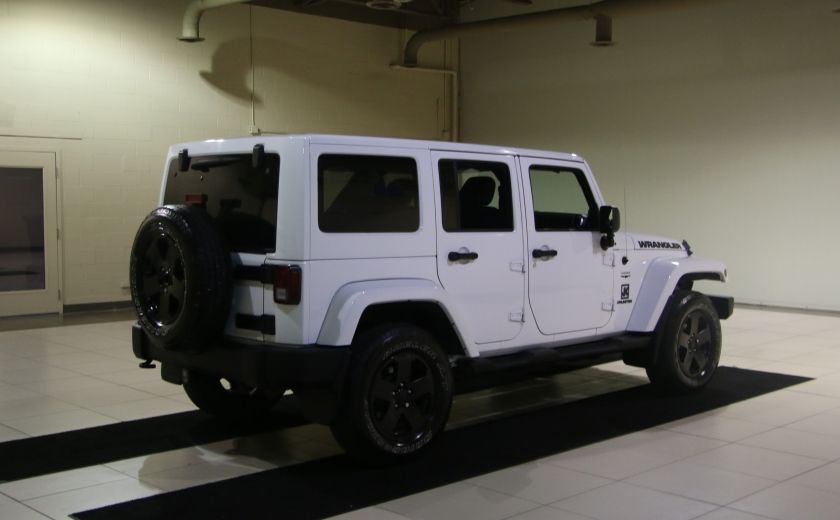 2012 Jeep Wrangler Sahara 4WD AUTO A/C 2TOITS MAGS #6