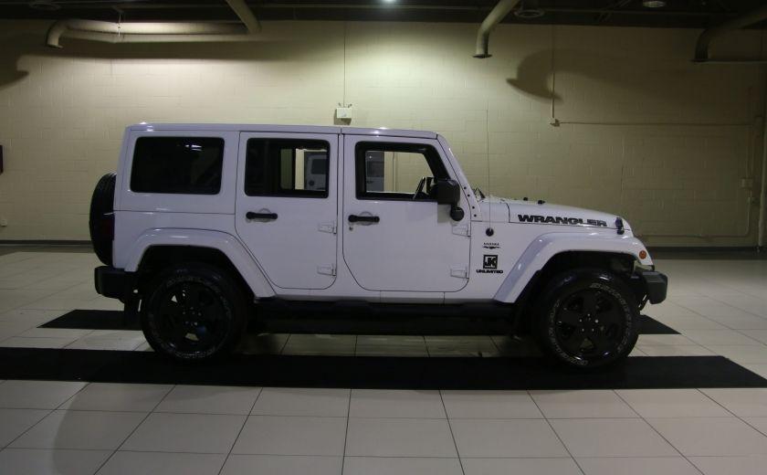 2012 Jeep Wrangler Sahara 4WD AUTO A/C 2TOITS MAGS #7