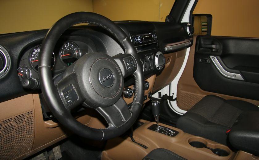 2012 Jeep Wrangler Sahara 4WD AUTO A/C 2TOITS MAGS #8