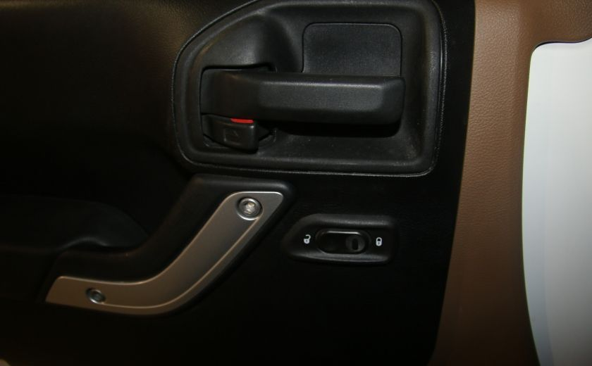 2012 Jeep Wrangler Sahara 4WD AUTO A/C 2TOITS MAGS #10