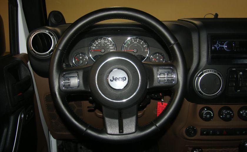2012 Jeep Wrangler Sahara 4WD AUTO A/C 2TOITS MAGS #13