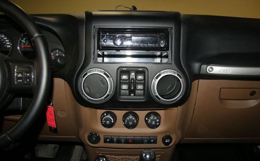 2012 Jeep Wrangler Sahara 4WD AUTO A/C 2TOITS MAGS #14