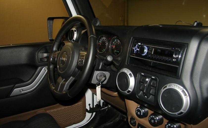 2012 Jeep Wrangler Sahara 4WD AUTO A/C 2TOITS MAGS #22