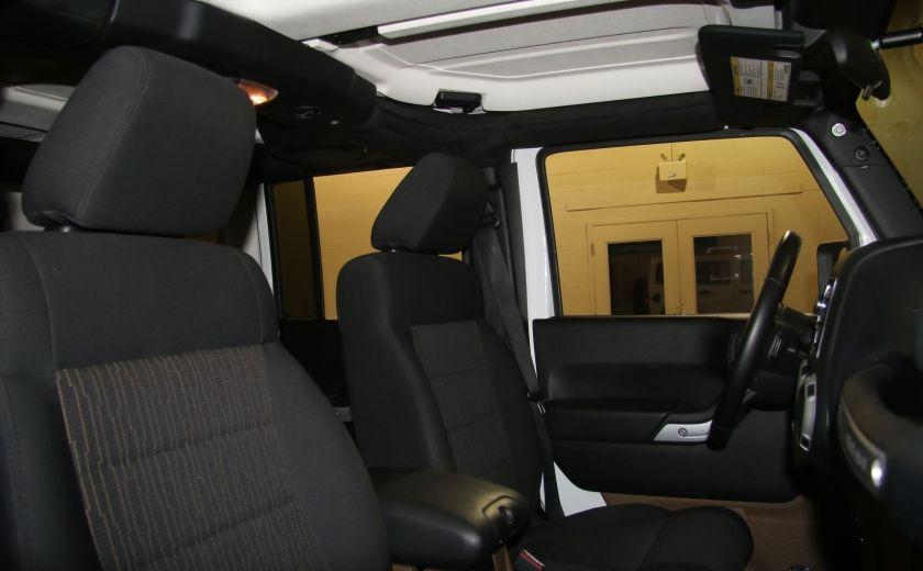 2012 Jeep Wrangler Sahara 4WD AUTO A/C 2TOITS MAGS #23