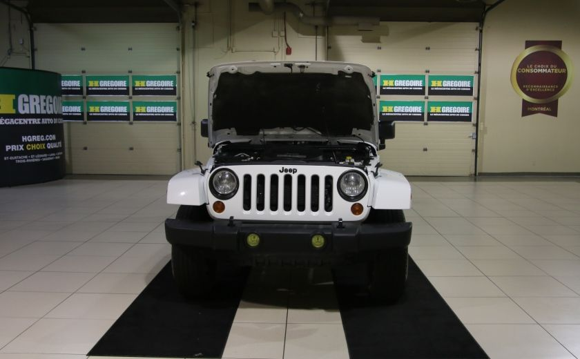 2012 Jeep Wrangler Sahara 4WD AUTO A/C 2TOITS MAGS #25