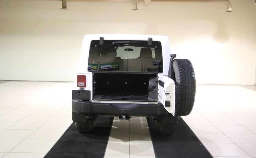 2012 Jeep Wrangler Sahara 4WD AUTO A/C 2TOITS MAGS #26
