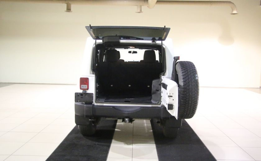2012 Jeep Wrangler Sahara 4WD AUTO A/C 2TOITS MAGS #27