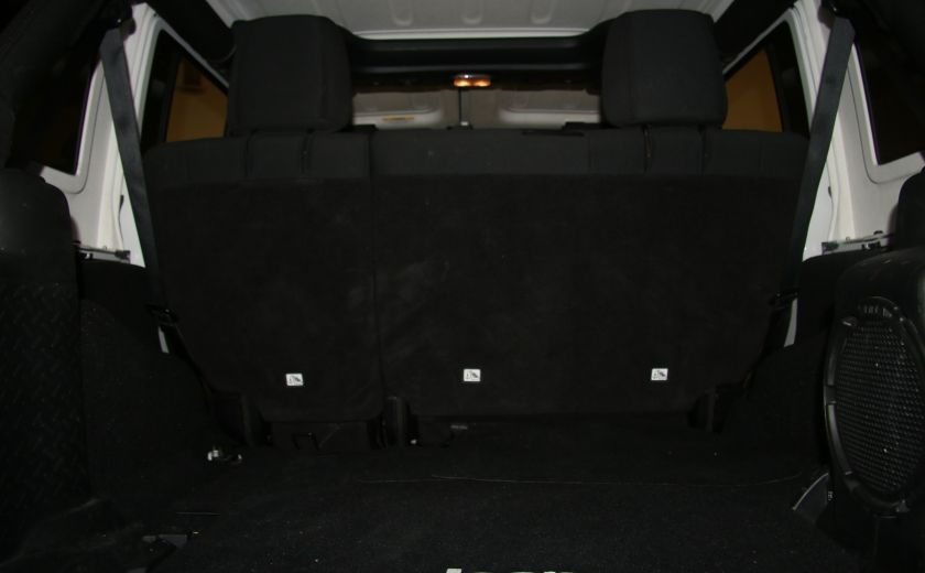 2012 Jeep Wrangler Sahara 4WD AUTO A/C 2TOITS MAGS #28