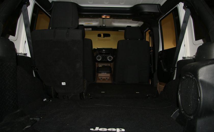 2012 Jeep Wrangler Sahara 4WD AUTO A/C 2TOITS MAGS #29