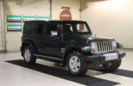 2011 Jeep Wrangler Sahara 4WD AUTO A/C 2TOITS MAGS in Victoriaville