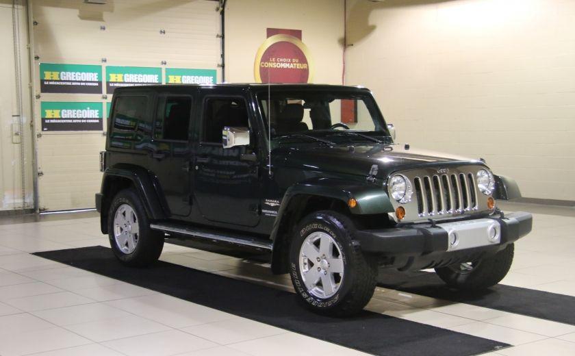 2011 Jeep Wrangler Sahara 4WD AUTO A/C 2TOITS MAGS #0