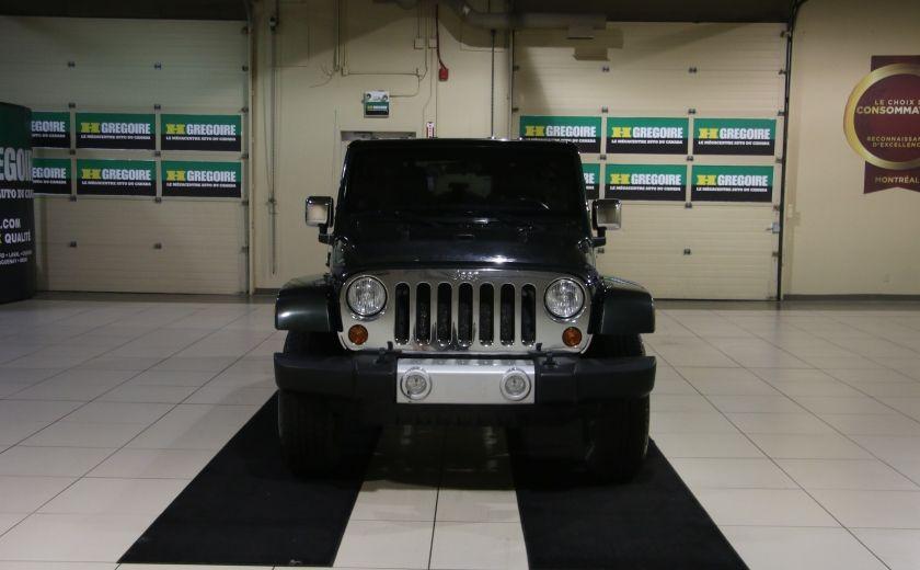2011 Jeep Wrangler Sahara 4WD AUTO A/C 2TOITS MAGS #1