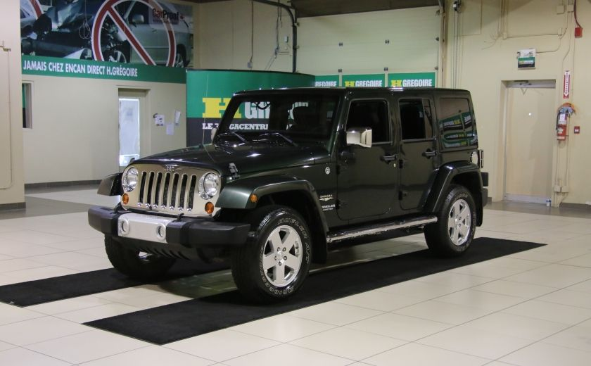 2011 Jeep Wrangler Sahara 4WD AUTO A/C 2TOITS MAGS #2