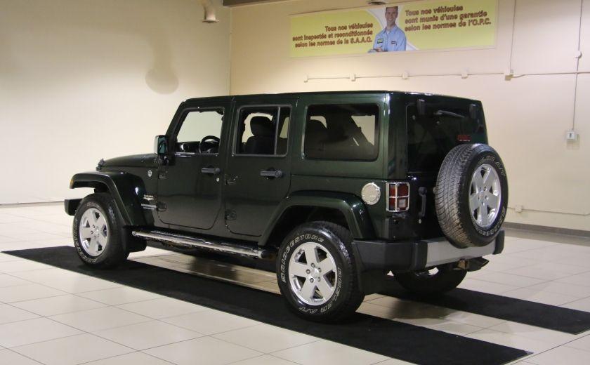 2011 Jeep Wrangler Sahara 4WD AUTO A/C 2TOITS MAGS #4