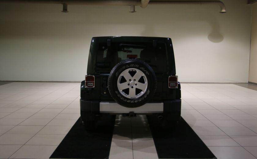 2011 Jeep Wrangler Sahara 4WD AUTO A/C 2TOITS MAGS #5