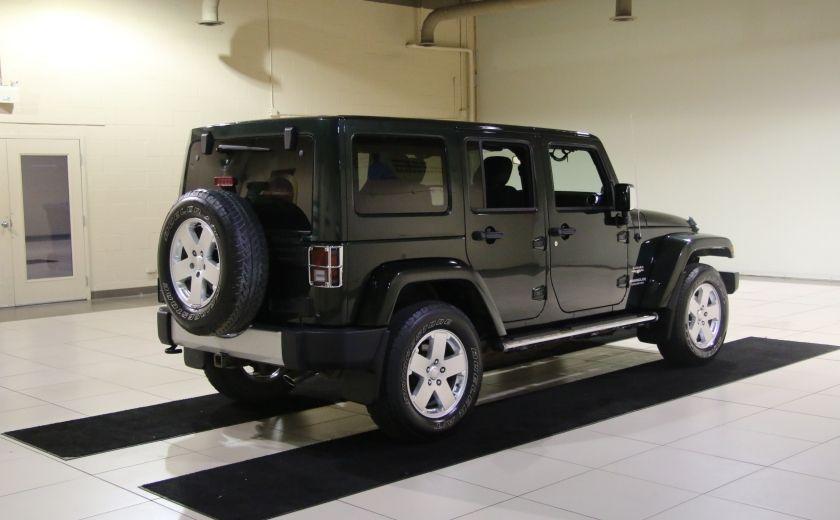 2011 Jeep Wrangler Sahara 4WD AUTO A/C 2TOITS MAGS #6