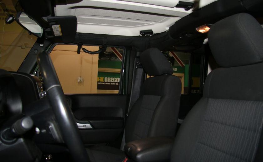2011 Jeep Wrangler Sahara 4WD AUTO A/C 2TOITS MAGS #9