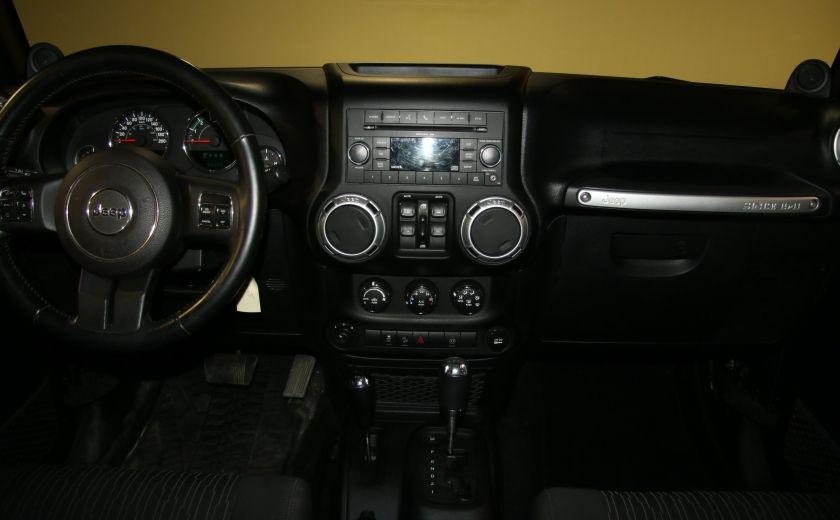 2011 Jeep Wrangler Sahara 4WD AUTO A/C 2TOITS MAGS #10