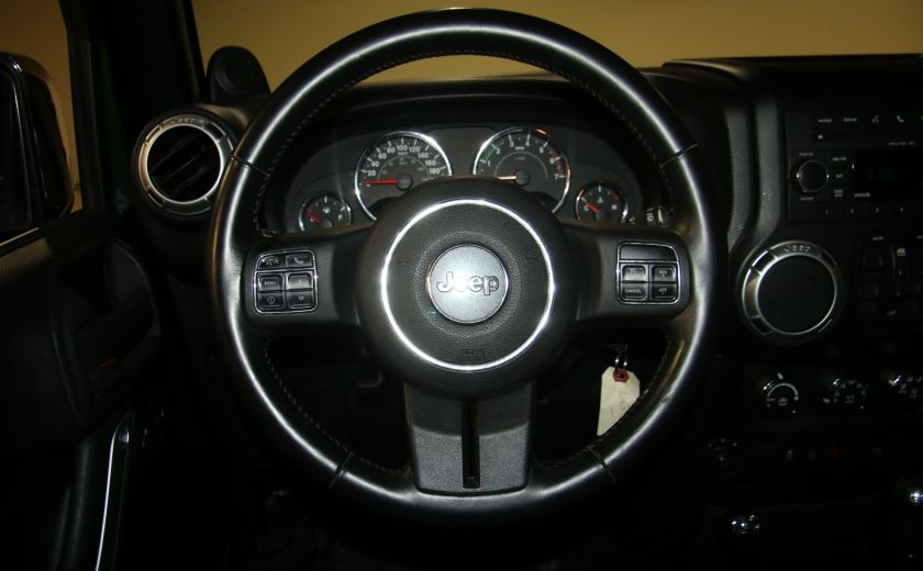 2011 Jeep Wrangler Sahara 4WD AUTO A/C 2TOITS MAGS #12