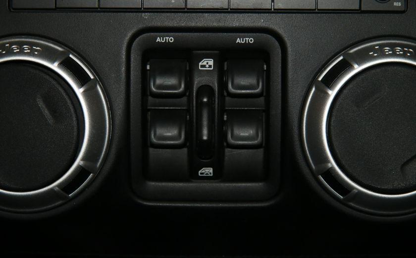 2011 Jeep Wrangler Sahara 4WD AUTO A/C 2TOITS MAGS #14
