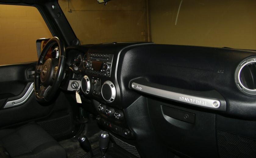 2011 Jeep Wrangler Sahara 4WD AUTO A/C 2TOITS MAGS #20