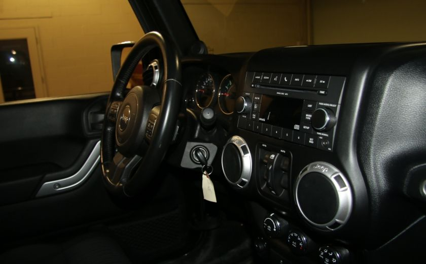 2011 Jeep Wrangler Sahara 4WD AUTO A/C 2TOITS MAGS #21