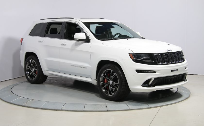 2015 Jeep Grand Cherokee SRT8 BLANC PARFAIT #0