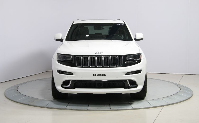 2015 Jeep Grand Cherokee SRT8 BLANC PARFAIT #1