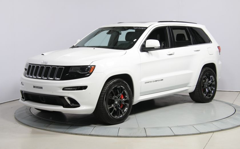 2015 Jeep Grand Cherokee SRT8 BLANC PARFAIT #2