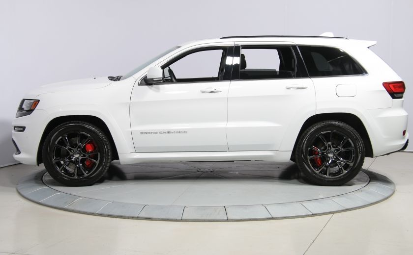 2015 Jeep Grand Cherokee SRT8 BLANC PARFAIT #3