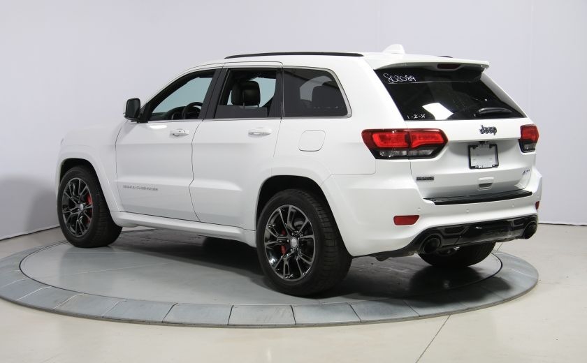 2015 Jeep Grand Cherokee SRT8 BLANC PARFAIT #4