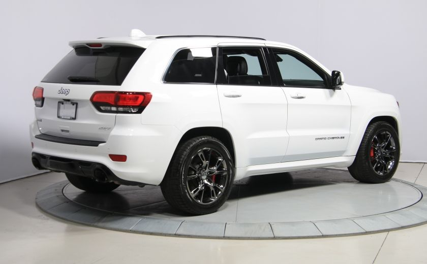 2015 Jeep Grand Cherokee SRT8 BLANC PARFAIT #6