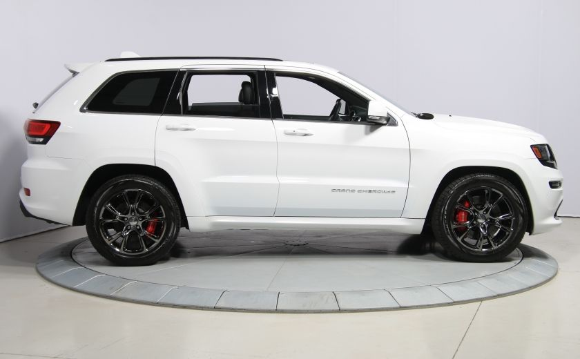 2015 Jeep Grand Cherokee SRT8 BLANC PARFAIT #7