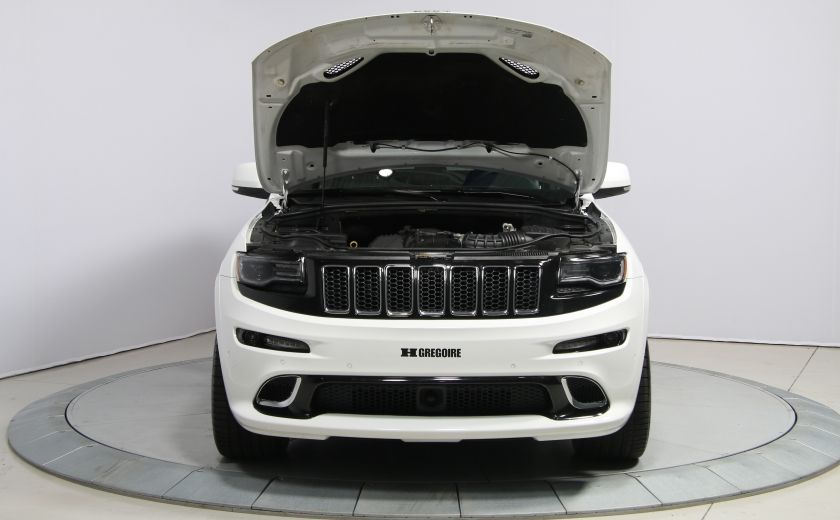2015 Jeep Grand Cherokee SRT8 BLANC PARFAIT #33