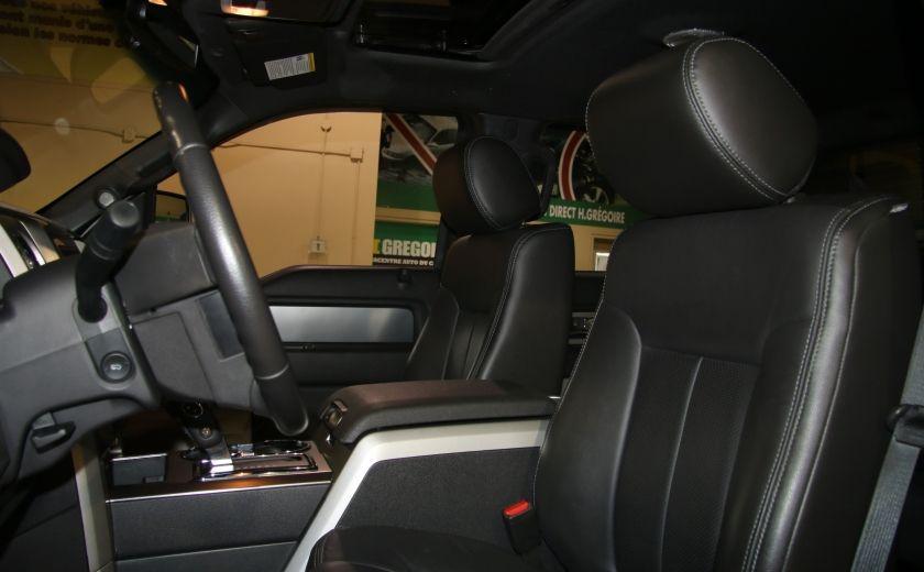2014 Ford F150 FX4 CUIR TOIT NAV CAMERA RECUL #9