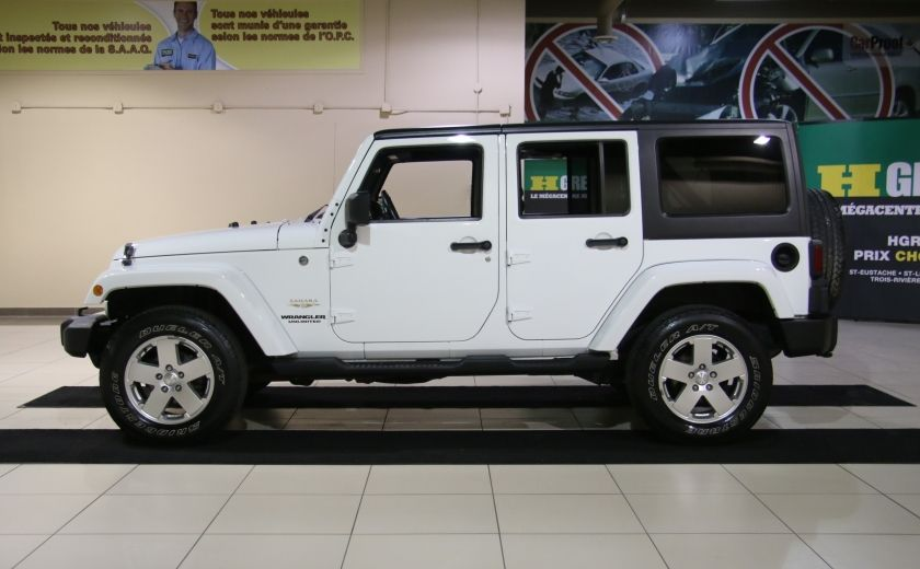 2011 Jeep Wrangler Sahara A/C MAGS #3