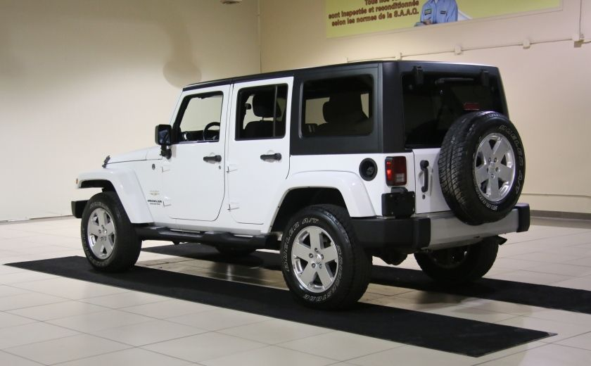 2011 Jeep Wrangler Sahara A/C MAGS #4
