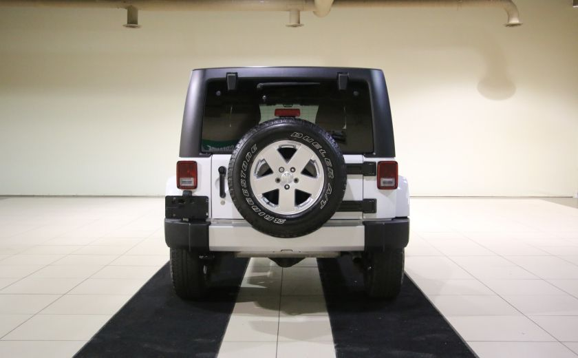 2011 Jeep Wrangler Sahara A/C MAGS #5