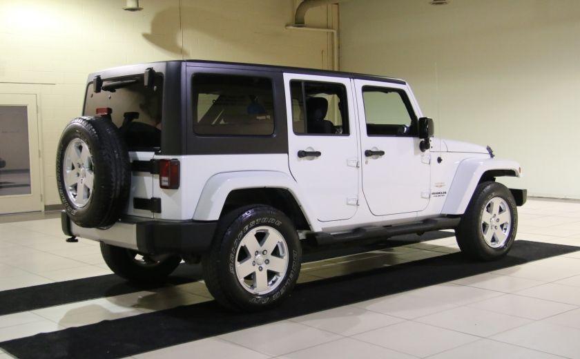 2011 Jeep Wrangler Sahara A/C MAGS #6