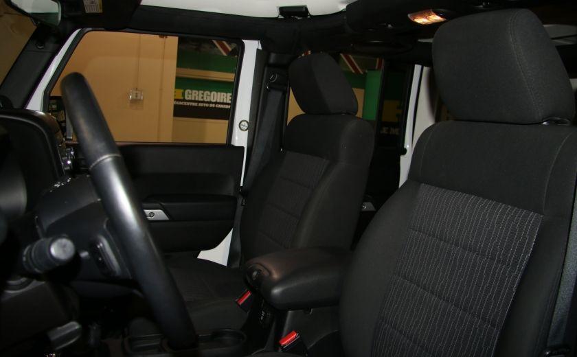 2011 Jeep Wrangler Sahara A/C MAGS #8