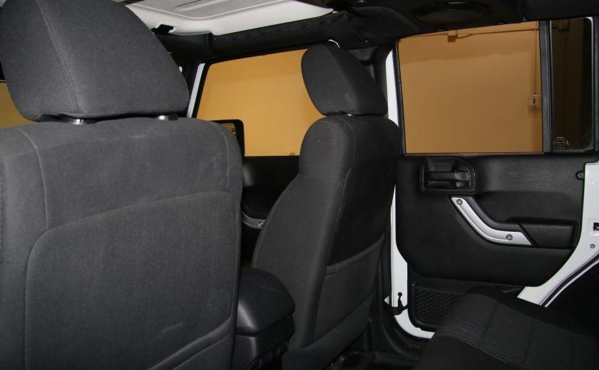 2011 Jeep Wrangler Sahara A/C MAGS #14