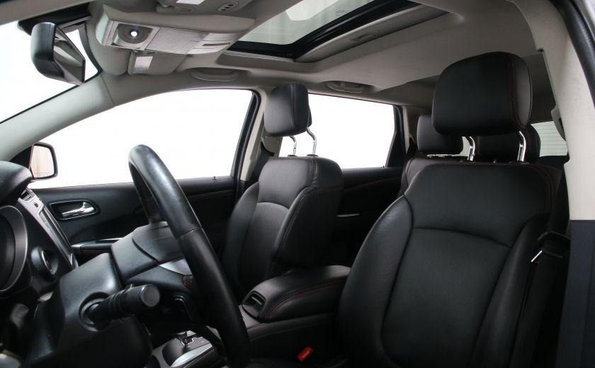 2014 Dodge Journey R/T Rallye AWD CUIR TOIT NAVI #10