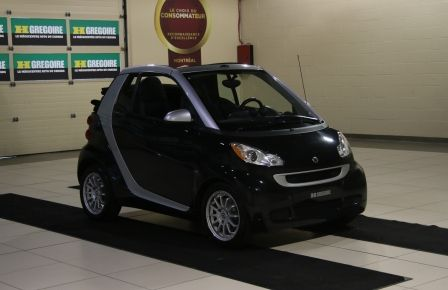 2012 Smart Fortwo CONVERTIBLE PASSION AUTO A/C GR ELECT NAV in Drummondville